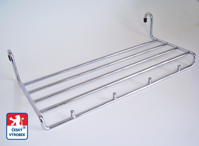 Držák ručníků 180×430/20 chrom lesklý (Držák ručníků 180×430/20 )