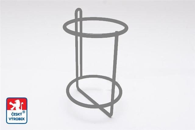 Držák na 1 ks PET lahve 1,5 l - šedý (Držák na pet lahve)